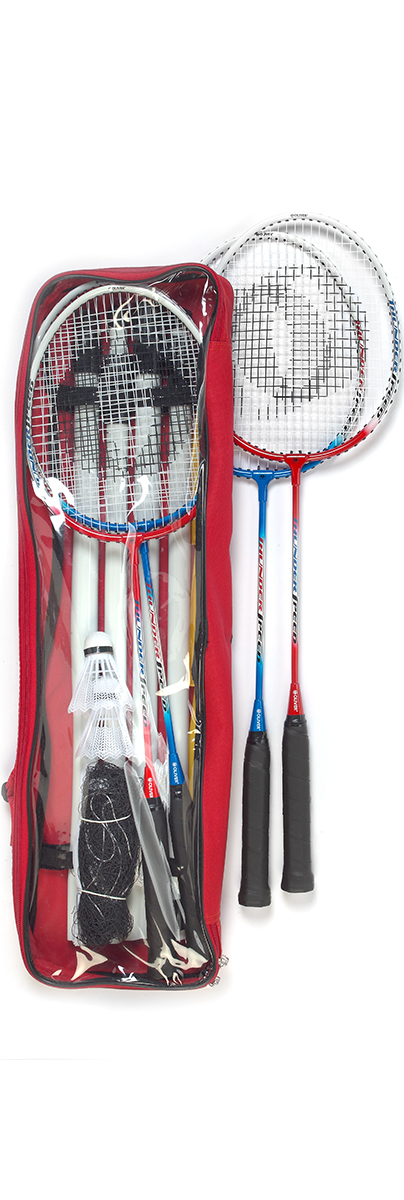 BADMINTON 4er SET